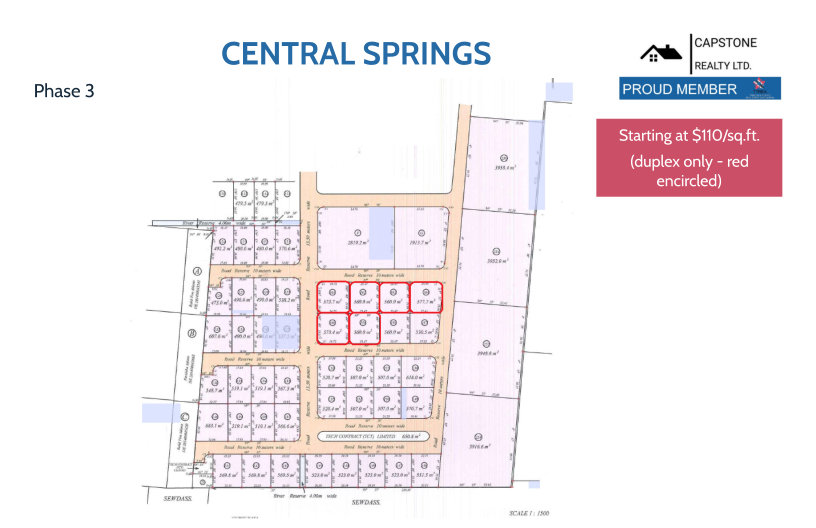 Central Springs Phase 3 Layout