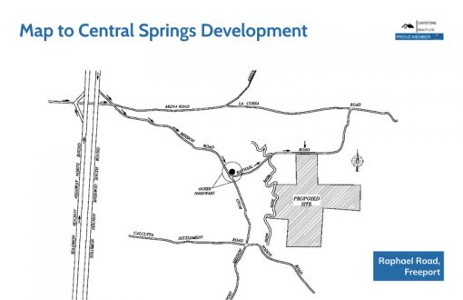 Location of Central Springs